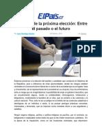 JHA-El Dilema de La Próxima Elección-El País