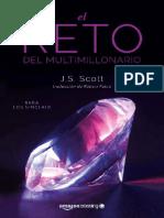 El Reto Del Multimillonario (Los Sinclair 1)- J. S. Scott