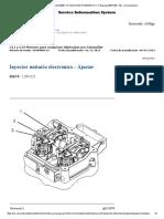 Calibracion de Inyectores Motor c11