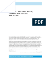 Incident Classification and Reporting
