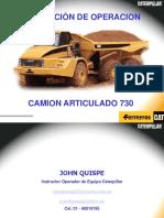 Camión CAT Articulado 730_1