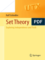 Ralf Schindler SET THEORY