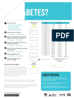 Prediabetes Risk Test