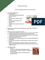 Protesis Fija Plural 2016