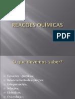Reações químicas Indústria