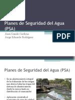 Planes de Seguridad Del Agua (PSA)