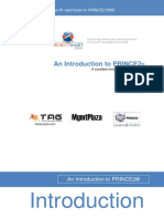 PRINCE 2 an Introduction