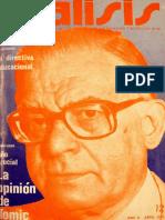 Revista Análisis, Chile, abril 1979