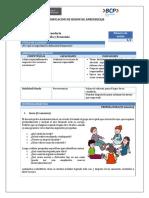 Planificacion de Sesion de Aprendizaje g