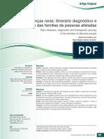 Doenças Raras_itinerário Diagnóstico