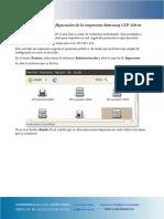 Guia Configuracion Impresora Samsung Clp320