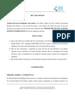 RES. TEEU-008-2018 Desincripción Partido  ET