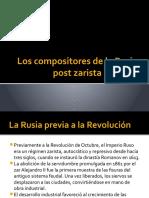 Los Compositores de La Rusia Post Zarista
