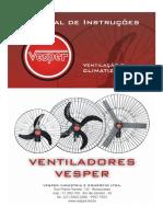Manual Ventiladores Vesper