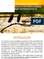 Extensión y Originalidad en La Creación de Parques Nacionales