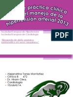Guia de Manejo de Hipertension Arterial FINAL BUENO