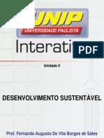 Slides de Aula Unidade 2 Desenvolvimento Sustentável