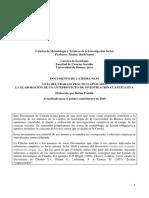 Tpa Dc 95 Anteproproyecto 2018