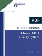 EFNDT2014 Guidelines