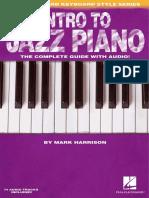 Intro to Jazz Piano - Mark Harrison (Hal Leonard series)
