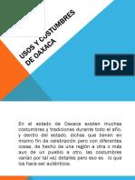 Usos y Costumbres de Oaxaca