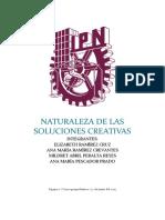 Naturaleza de Las Soluciones Creativas