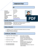 Curriculum Jose Duran
