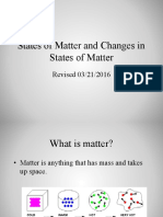 states of matter and change in states of matter pp