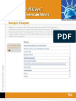 History Alive! Pursuing American Ideals Sample Chapter