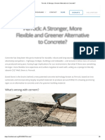 Ferrock_ a Stronger, Greener Alternative to Concrete