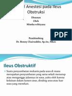 Ileus Obstruktif