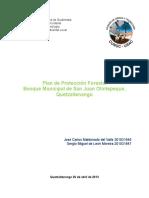 Plan de Protección Forestal