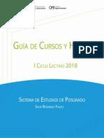 Guía Horarios SEP 1-2018