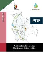 Diseño de La Red Nacional De Monitoreo de Calidad Hídrica