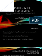 harry potter   the culture of diversity