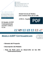 Conferencia 3. Modelo Audit Centroamericano