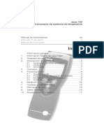 Testo 720 Instruction Manual
