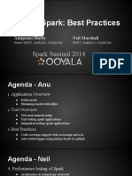 Testing Spark Best Practices Anupama Shetty Neil Marshall