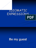 Idiomatic Expressions Review
