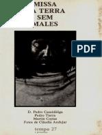 D. Pedro Casaldáliga - Missa Da Terra Sem Males