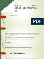 Parámetro y Características de Los Diodos de Propósito.pptx