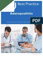 Balanoposthitis