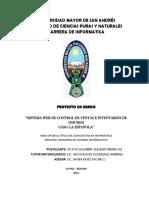 Sistemas de Ventas e Inventario
