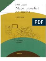 Mapa Mundial de Suelos FAO-UNESCO
