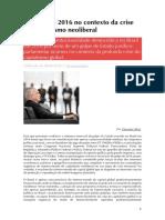 22 ALVES O golpe de 2016 no contexto.pdf