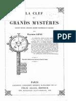 Eliphas Levi - La Clef Des Grands Mystères suivant Henoch, Abraham, Hermes, Salomon