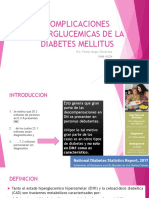 Expo Complicaciones Hiperglucemicas de La Diabetes Mellitus