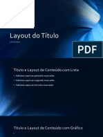 Layout Do Título