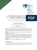 1632-4987-1-PB Modelo Estructural Explicado y Ejemplo Para La Documentación Narrativa de Experiencias Artísticas y Artístico-pedagógicas