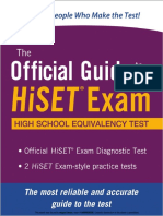 eBook Official Guide HiSET Exam (1)